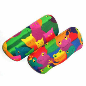 """""""Cool"""" Cat and Frog Glasses Cases"""