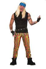 Adulte Peau de serpent Punk Rocker # pantalon années 1970 Année 1980 célébrité