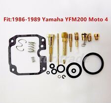 NEW  Moto 4 YFM200 Carburetor Carb Rebuild Kit Repair For Yamaha 1986-1989 USA