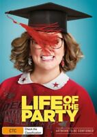 Life Of The Party DVD NEW Melissa McCarthy Region 4