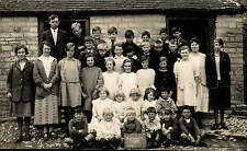 Ashleworth near Gloucester 1925 W 59 School Group.