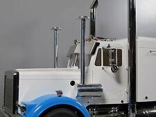 Pair Aluminum Air Cleaner Intake Tube Tamiya RC 1/14 King Grand Hauler Globeline