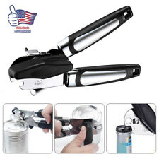 Multi-function Heavy Duty Iron Tin Can Opener Cutter Comfort Handle Grip