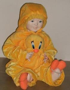 Costume CARNEVALE bambino bambina TITTY TWEETY tuta tg.9/12 mesi PEGASUS srl