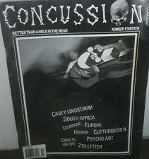 Concussion skateboarding magazine issue #14 pool skating vintage Skateboarding