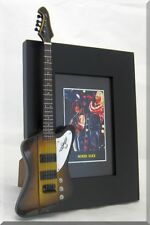 NIKKI SIXX Miniature Guitar Frame Motley Crue Thunderbird  Bass