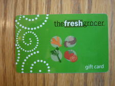 The Fresh Grocer Store Collectible Gift Card, NO VALUE