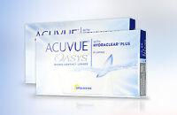 Acuvue Oasys Hydraclear plus neueste Generation UV Schutz 2x6 Kontaktlinsen