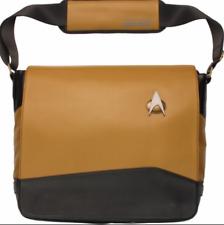Star Trek The Next Generation Gold Uniform Messenger Bag LAPTOP THINK GEEK