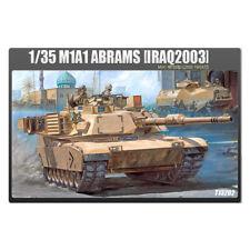 ACADEMY #13202 1/35 Plastic Model Kit M1A1 Abrams Iraq 2003