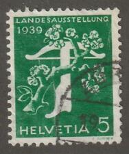 Switzerland 1939 #260 Tree and Crossbow - Used