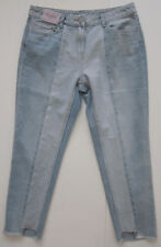 New Womens Blue Relaxed NEXT Crop Jeans Size 12 Regular RRP £32 DEFECTS