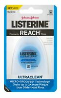 Listerine Ultraclean Mint Floss with Micro-Grooves Technology 30 YD (Pack of 9)