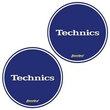 Slipmats Technics DMC speedmat Blue/Bleu (1 paire / 1 pair) mbspeed NEUF
