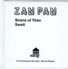 (FG524) Zan Pan, Sirens Of Titan - DJ CD