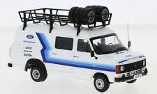 """IXO 1:43 RAC328X 1979 Ford Transit MK II """"Ford Motorsport"""" Assistance - NEU!"""
