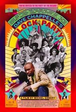 BLOCK PARTY MOVIE POSTER 2 Sided ORIGINAL 27x40 DAVE CHAPPELLE
