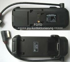 Audi Handy Adapter Set für iPhone 4 + 4s Handyschale Ladeschale Handyhalterung K