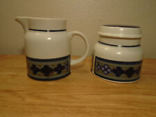 Royal Doulton Tangier Creamer and Sugar Set With Lid