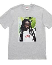 SUPREME BUJU BANTON T-SHIRT TEE GREY SS19 GRAY SHIRT ORDER CONFIRMED SIZE XL