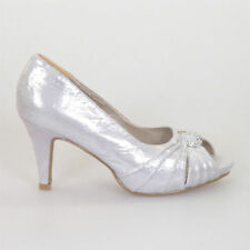 Stiletto Bridal or Wedding Synthetic Heels for Women