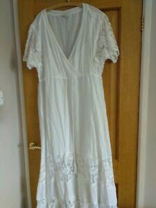 Beautiful White Hush dress size 16.