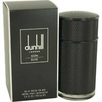 Dunhill Icon Elite Cologne Alfred Dunhill Men Perfume Eau De Parfum Spray 3.4 oz