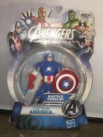 Marvel Avengers Assemble Captain America 4-Inch Action Figure