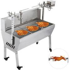 132LBS Hog Roast Machine BBQ Spit Roaster Rotisserie Grill Roasting Motor