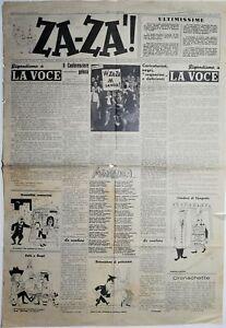 Za-zà! Settimanale umoristico Napoli 29 marzo 1946 Anno II n° 13