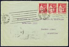2402 FRANCE TO ARGENTINA COVER 1934 PARIS - BUENOS. AIRES