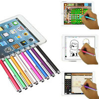 Fine Point Round Thin Tip Capacitive Stylus Pen For iPhone 6S 6 iPad Air 2 Mini