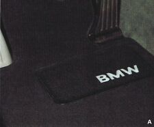 BMW E65 7-Series Genuine Carpeted Floor Mat Set, Mats NEW 745i 750i 760i OE