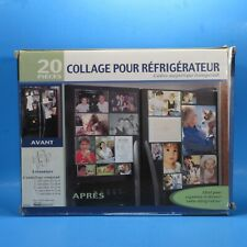 Refrigerator Collage Clear Magnetic Frames