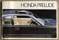 1981 Honda Prelude original Canadian sales brochure