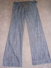 Ladies Armani Exchange denim flared trousers size 8