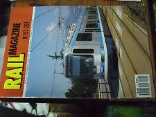 10µ Revue Rail Magazine n°127 Concour OCEM 1934 Pullman 4080 Saga TGV T.A.G TVC