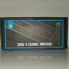 JL Audio MX280/4 Compact marine/powersports 4-channel amplifier 50X4 RMS WATTS