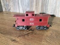 Vintage MarX O Gauge Train Caboose NYC Railroad RR New York Central A3
