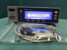 Nellcor N595 Patient Pulse Oximeter w/ NEW Non OEM Spo2 Sensor & NEW Battery
