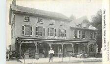 Pennsylvania, PA, Morgantown, C G Gross' Store UDB (pre-1907) Postcard