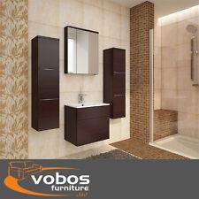 Mobili per bagno moderno Set muro alto basso Armadietto Armadio Specchio libero lavandino