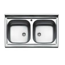 Lavello inox cm 90A rubinetteria e lavelli da cucina ...