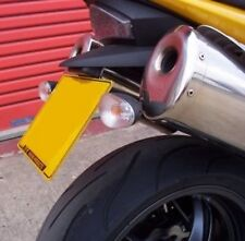 TRIUMPH R&G RACING Tail Tidy / Licence Plate Holder Triumph Speed Triple 2007