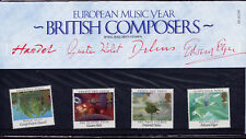 GB 1985 EUROPA EUROPEAN MUSIC YEAR COMPOSERS PRESENTATION PACK No.161