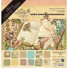 """GRAPHIC 45 """"ONCE UPON A SPRINGTIME"""" 12x12 DCE PAPER COLLECTION SCRAPJACK'S PLACE"""