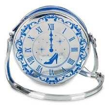 DISNEY CINDERELLA CLOCK KIDS BAG PURSE NEW!