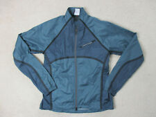 Cannondale Jacket Adult Extra Large Blue Gray Full Zip Cycle Coat Mens