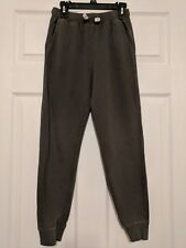 Hanna Andersson Boys Gray Jogger Pants elastic drawstring waist size 140