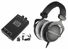 Beyerdynamic DT-770-PRO-250 Studio Tracking Headphones+Presonus Headphone Amp